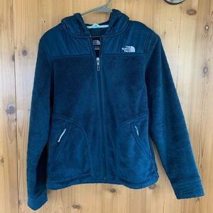 the north face jacket teal blue size extra small